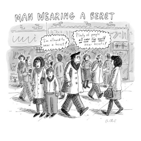 From The New Yorker's style issue. By Roz Chast.