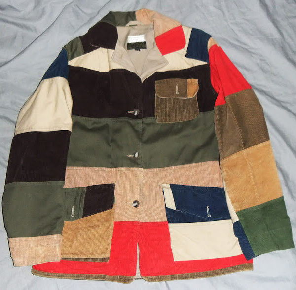 Mister Jalopy's quest for a patchwork hunting jacket