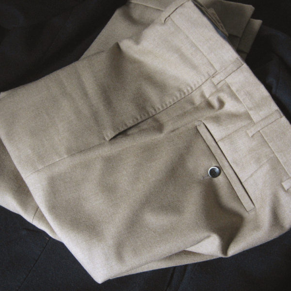 The Second Best Color for Flannel Trousers