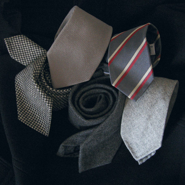 The Silver Necktie