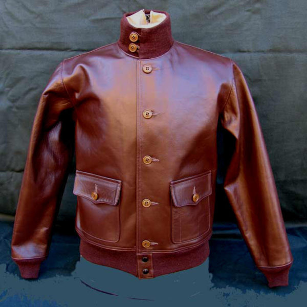 An A-1 Flight Jacket from Lost Worlds Inc.