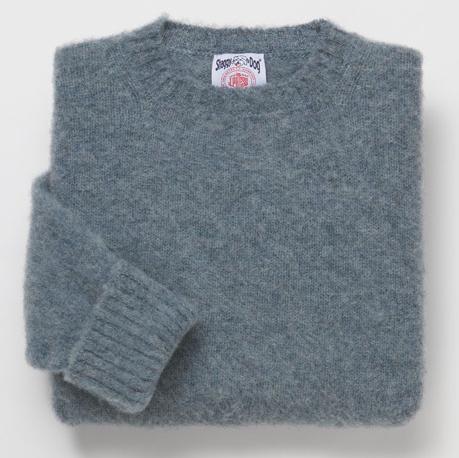 It's on sale: Shetland crewneck sweaters