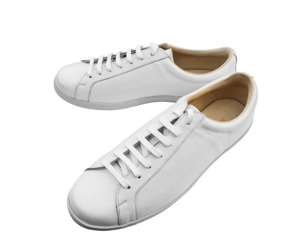 Kent Wang's Plain White Sneakers