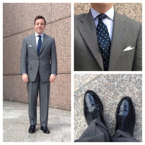 Real People: Suits & Black Shoes