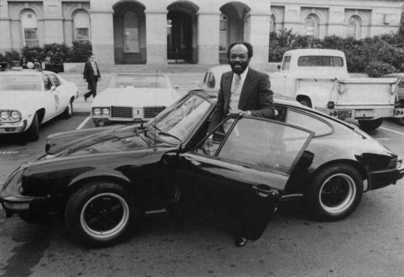 Mayor Willie L. Brown, Jr. shows Sacramento how it's done, circa 1975