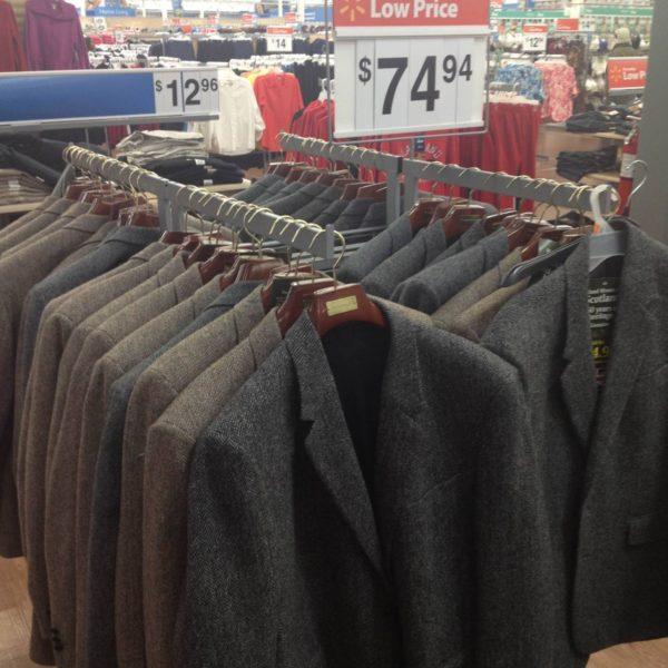 Follow-up: Harris Tweed at Walmart