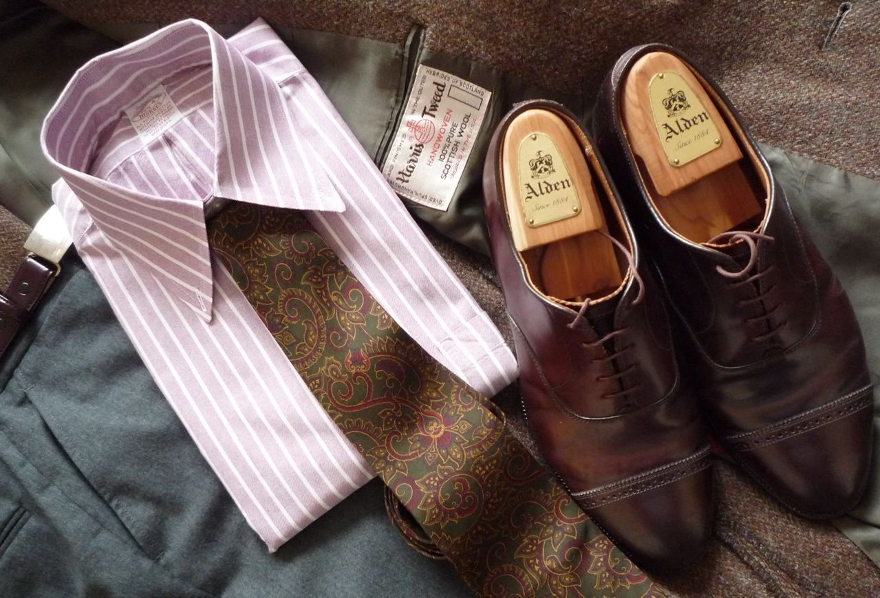Mauve, Flannel, and Tweed