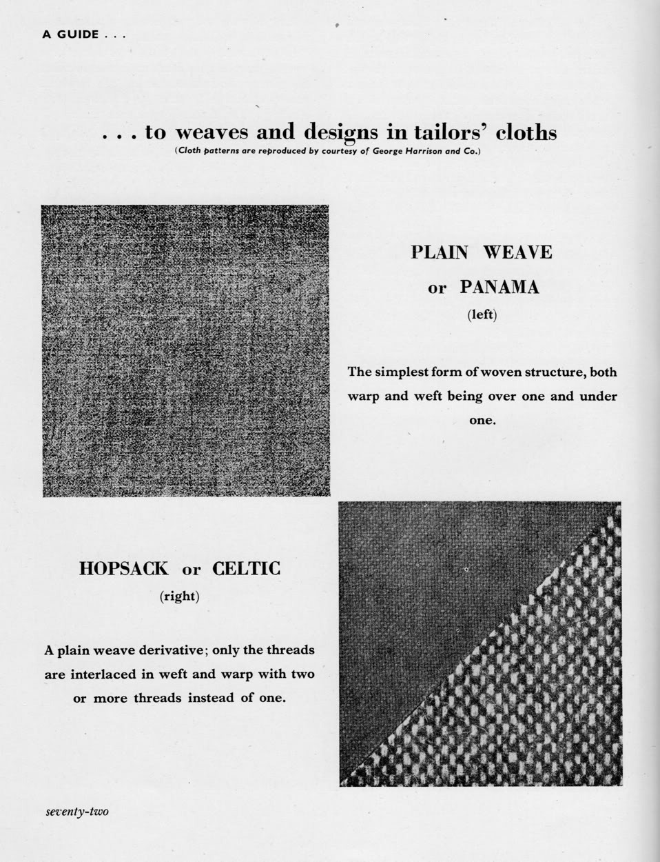Learning Basic Patterns and Weaves
