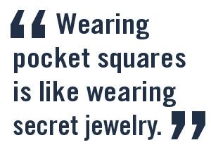Wingtip's blog interviewed me about pocket squares