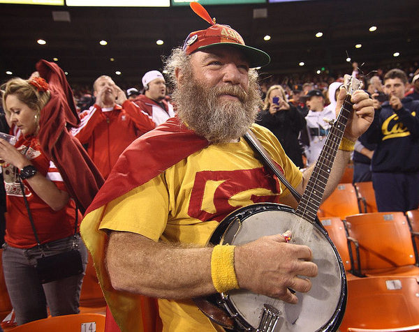 """Banjo Man,"" aka ""Super Niner,"" aka Stacy Samuels"
