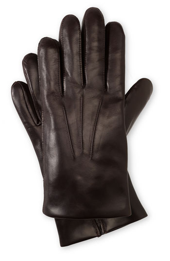It's On Sale: Cashmere-lined leather gloves