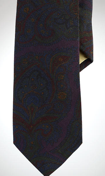 It's On Sale: Wool Challis Neckties