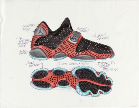 ;When I started designing shoes in late 1985, athletic shoes were just basic performance footwear