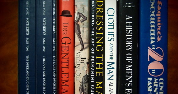 Gentleman's Gazette: 100 Books for Your Menswear Library
