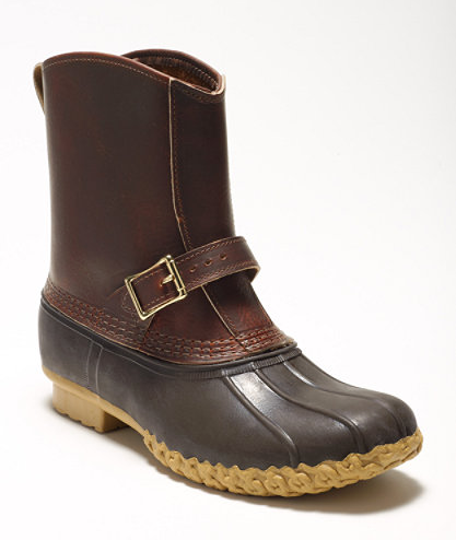 Bean Boots with a Buckle