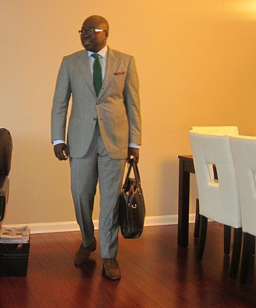 Real People: Patch pocket suit