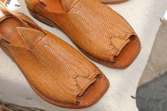 Handmade huaraches from Jocotepec