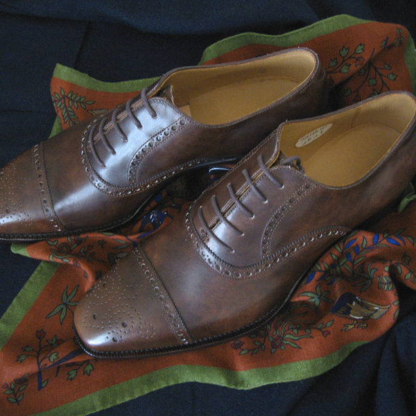 We Got It for Free: Kent Wang and Meermin's Antiqued Shoes