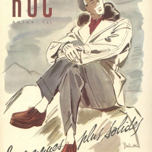 Vintage shoe advertisements