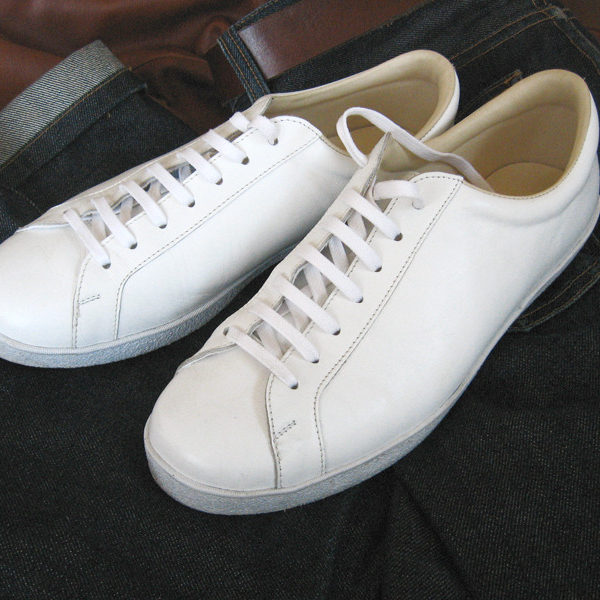 Kent's White Sneakers v. 2.0