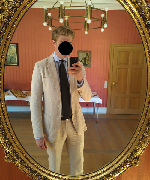 Real People: Summer Linen Suit