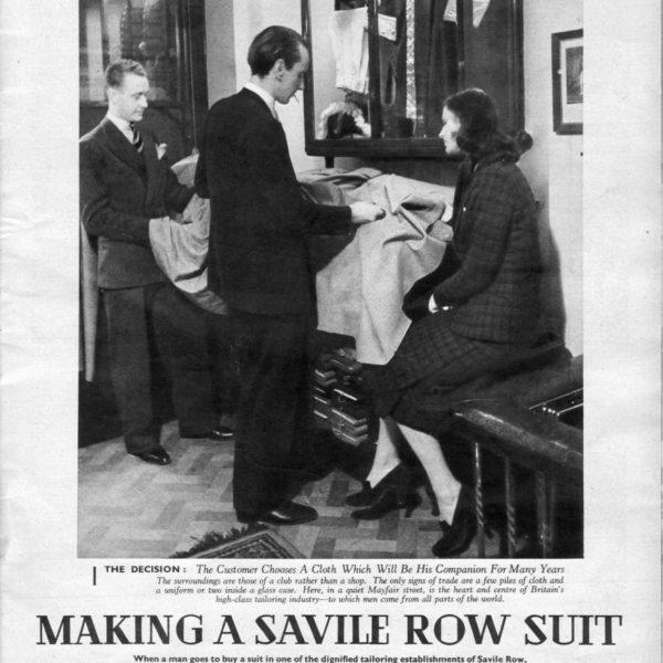 Savile Row, 1939
