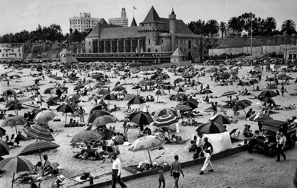 Santa Monica Beach, 1936
