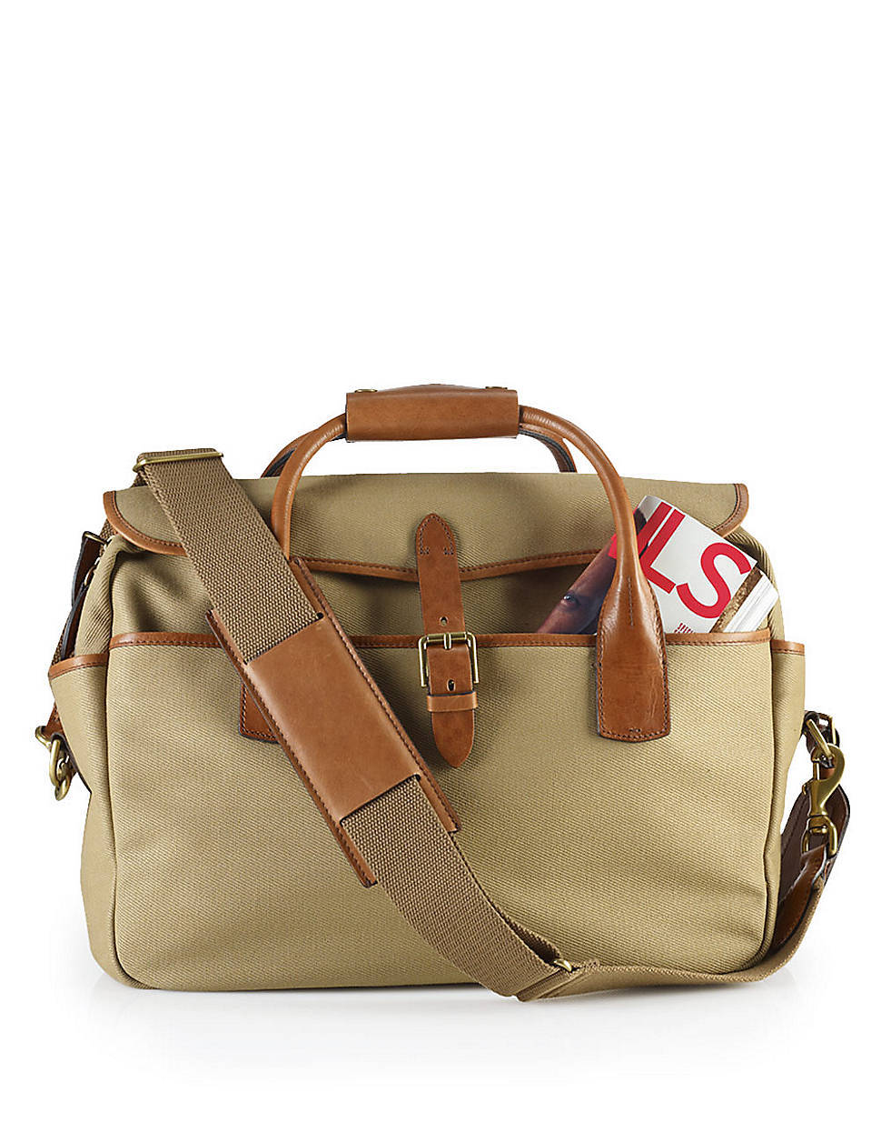 It's On Sale: Ralph Lauren Canvas Briefcase