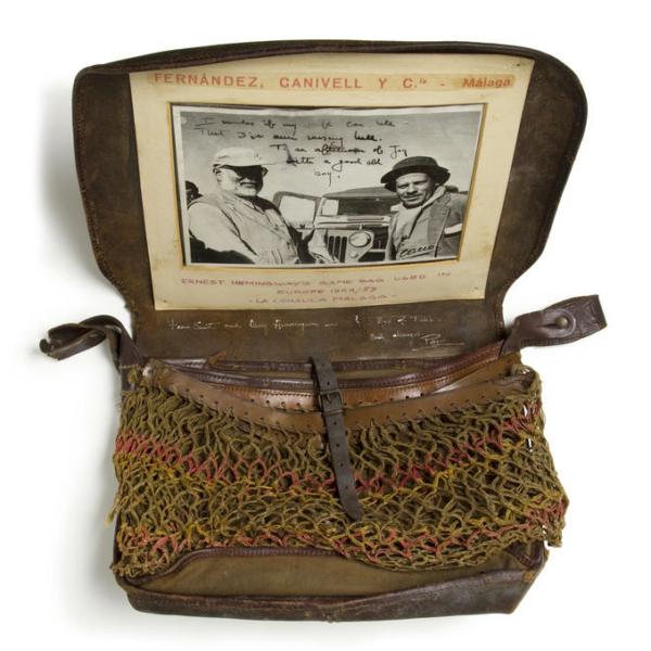 Ernest Hemingway's Game Bag