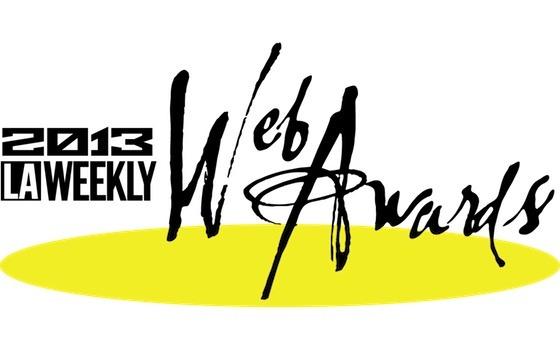 """2013 LA Web Awards """"Best Fashion Blog"""""""