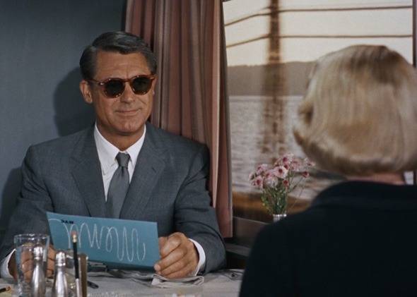 Cary Grant's sunglasses are the coolest item of clothing ever