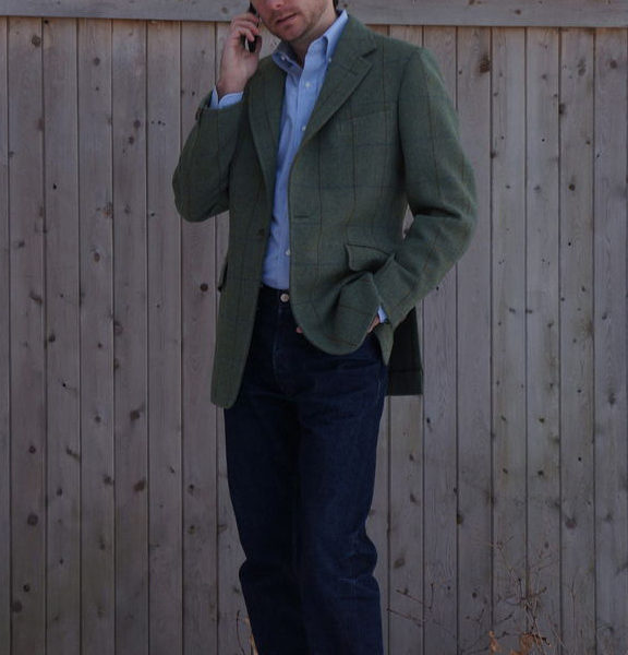 Real People: Sport Coats with Jeans