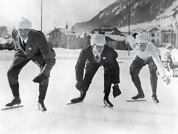 What Olympic Ice Skating Looked Like in 1924