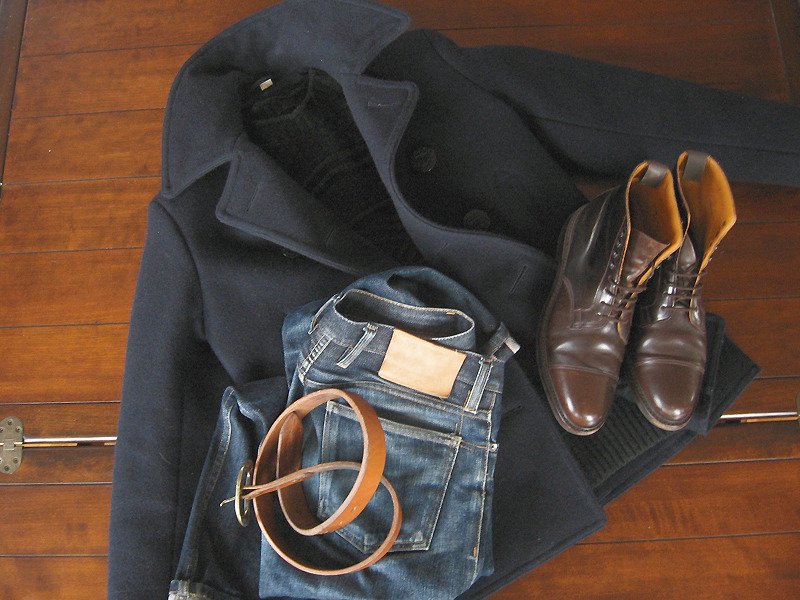 Wearing Boring Outerwear