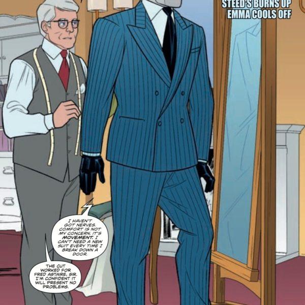 Mister Crew found a strange comic