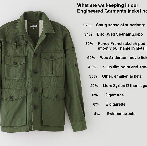 Engineered Garments Expedition jacket