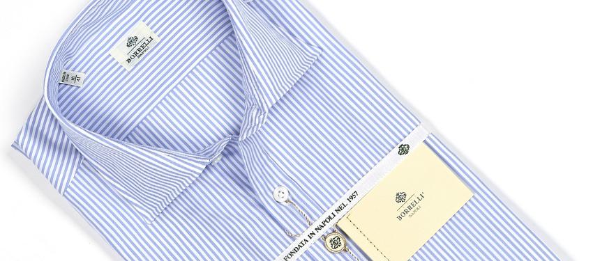 It's On Sale: Borrelli Shirts at Vente Privee