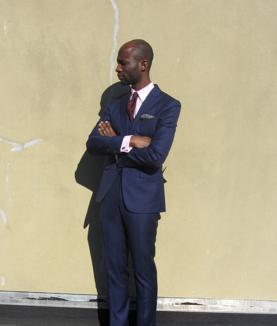 Real People: Dressing Down a Suit