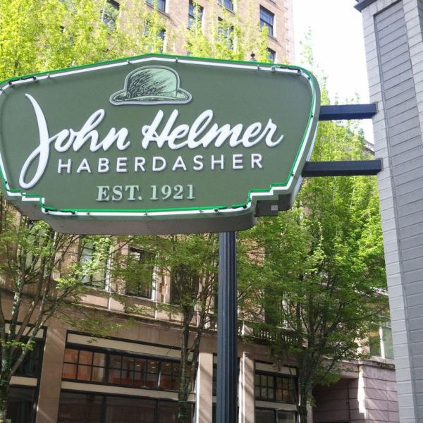 John Helmer Haberdasher in Portland