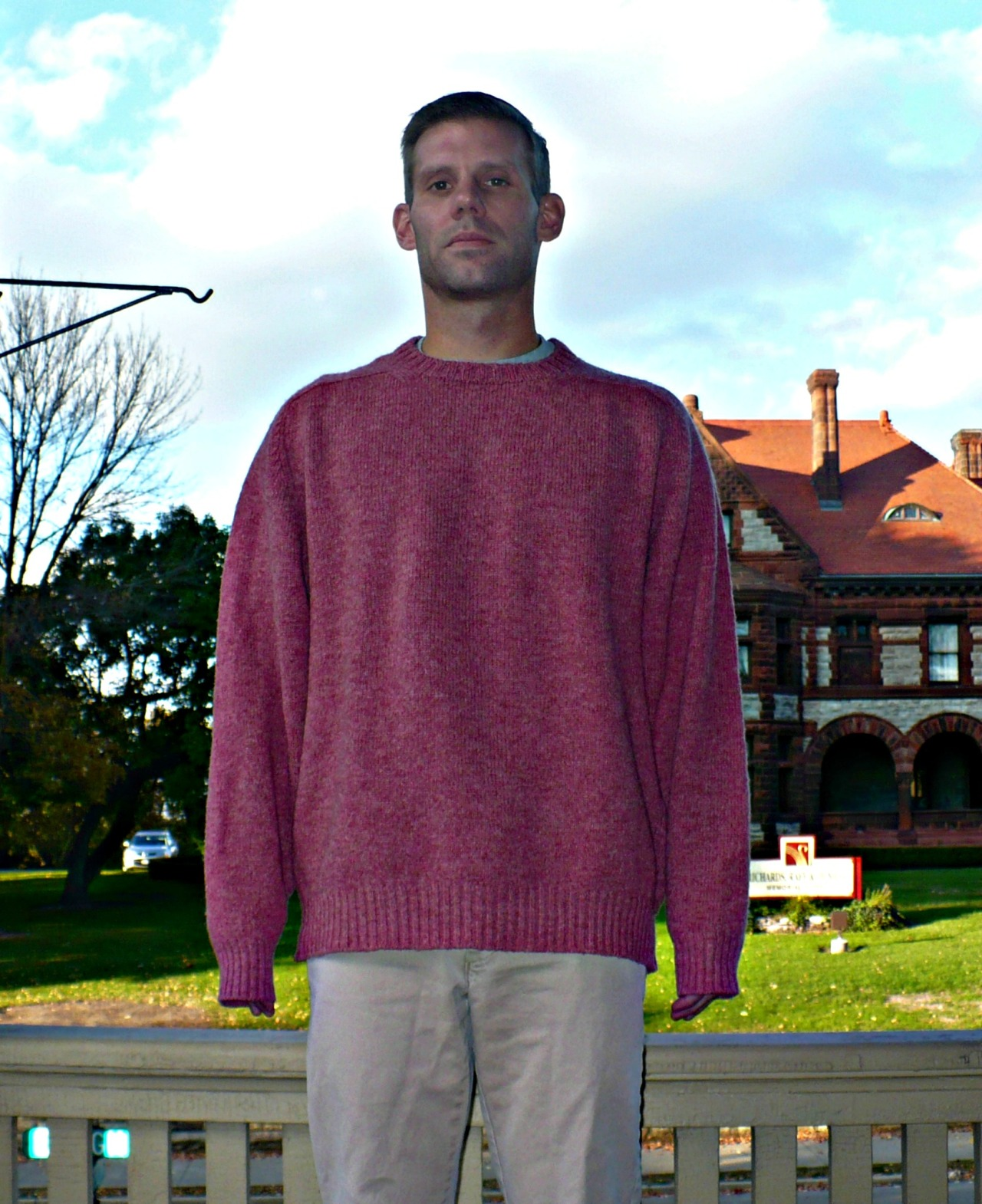 Shrinking Wool Sweaters Put This On