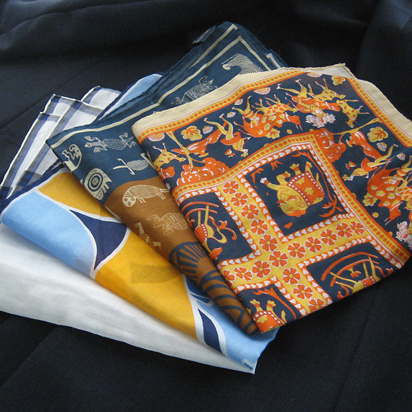 The Usefulness of Cotton Pocket Squares