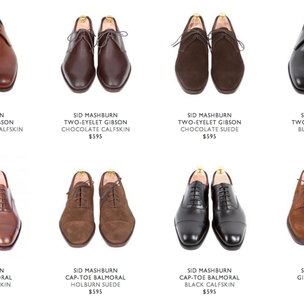 It's (Going to be) On Sale: Stuff at Sid Mashburn
