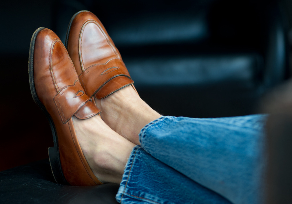 A Summertime Favorite: Penny Loafers