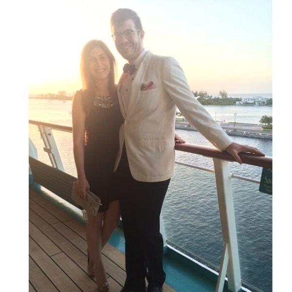 Ben Harrison and his beautiful fiance Rachel