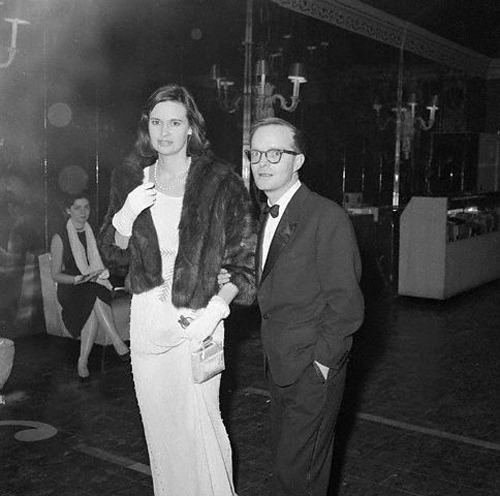 [Truman Capote] came to my 17th birthday party, with Gloria Vanderbilt