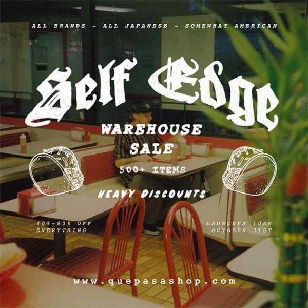 It's on Sale: Self Edge Warehouse Sale