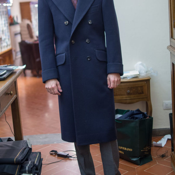 Real People: The Well-Tailored Overcoat