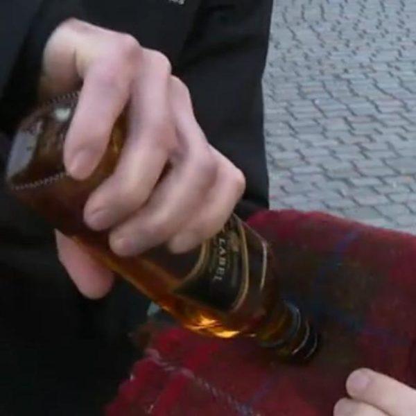 Bad Good Idea, or Good Bad Idea? Whisky-scented Harris Tweed