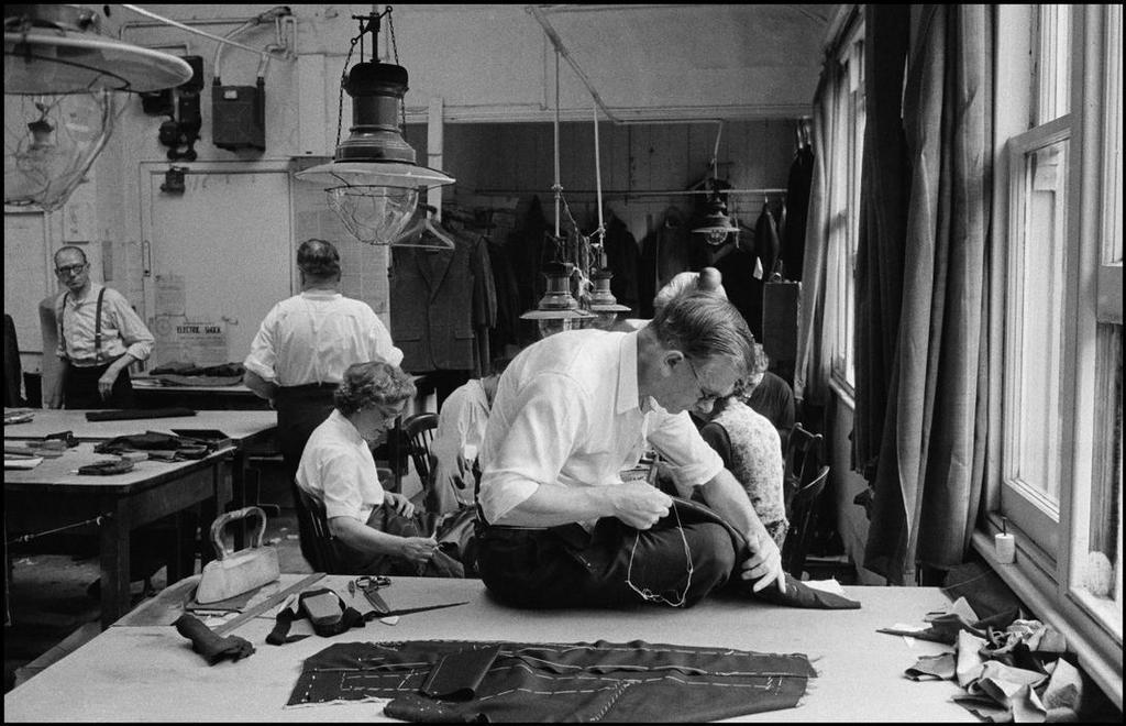Savile Row, 1957
