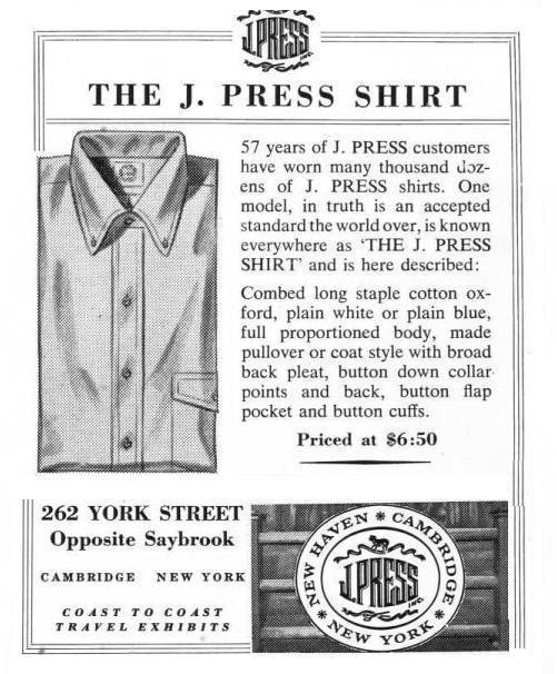 It's on Sale: OCBDs at J. Press